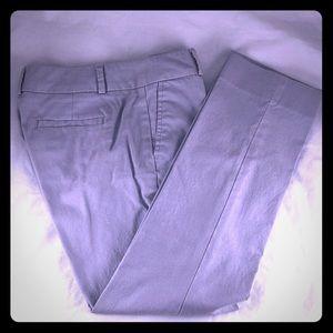 Banana Republic Gray Pleated Pants size 0P
